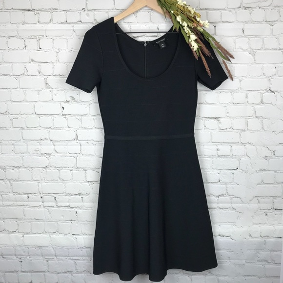 6dc3dd3ab49274 White House Black Market Dresses | Scuba Fit N Flare Dress | Poshmark
